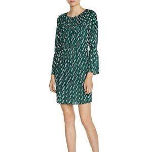 NWT Maje Revalou Geometric Patterned Mini Dress
